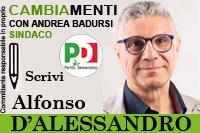D'Alessandro Alfonso candidato Partito Democratico Comunali Pisticci 2016
