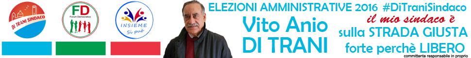 Di Trani Vito candidato sindaco elezioni Comunali Pisticci 2016
