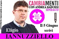 Iannuzziello Eligio candidato Uniti per Pisticci e Marconia Comunali Pisticci 2016