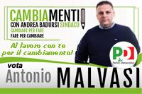 Malvasi Antonio candidato Partito Democratico Comunali Pisticci 2016