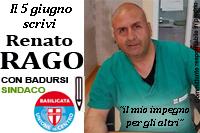 Rago Renato candidato Udc Comunali Pisticci 2016